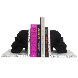 Skull Bookends by Haus of Skulls