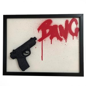 Handmade 3D Frame by Haus of Skulls