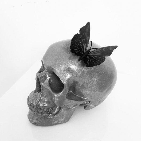 Butterfly Skull by Haus of Skulls