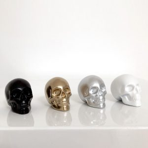 Set of 4 Mini Skulls by Haus of Skulls