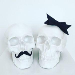 Mr & Mrs Skull by Haus of Skulls