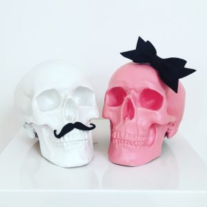 Mr & Mrs Skull by Haus of Skulls