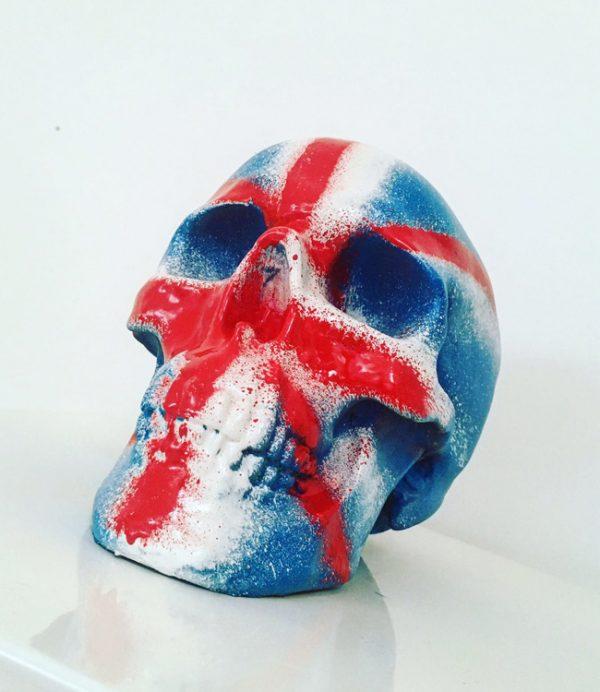 Union Jack Skull by Haus of Skulls
