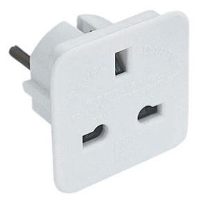 UK to Europe Plug Adapter