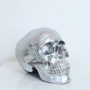 Silver Handmade Skull by Haus of Skulls