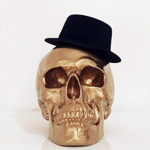 The Skull has got his hat on! by Haus of Skulls