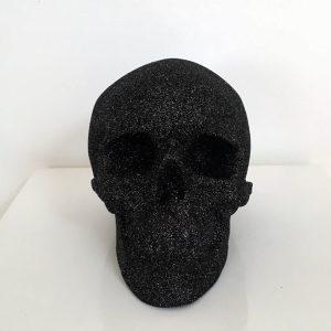 Black Glitter Skull by Haus of Skulls