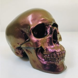 Colour Flip Handmade Skull by Haus of Skulls