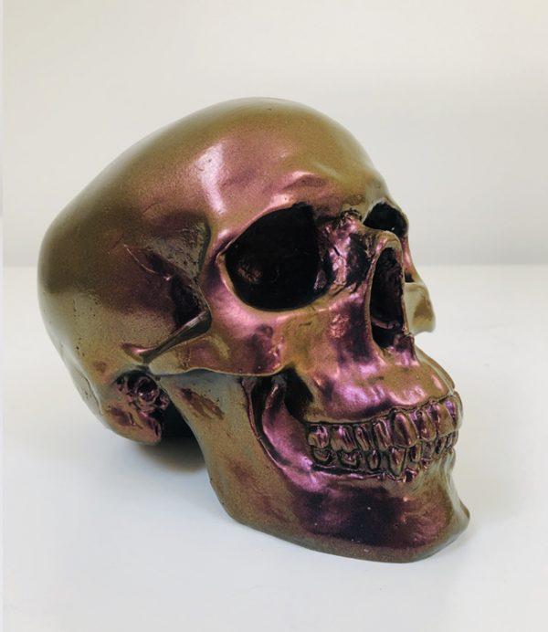 Colour Flip Handmade Skull by Haus of Skulls