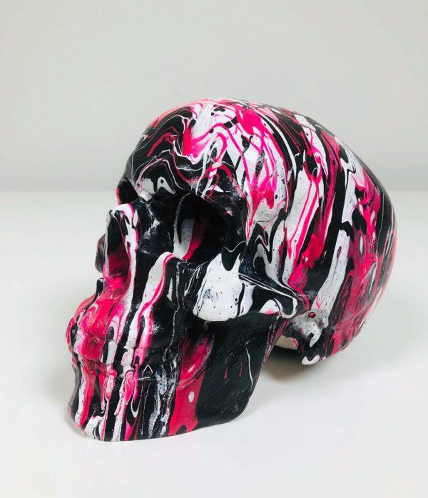 Fluid Art Skulls by Haus of Skulls