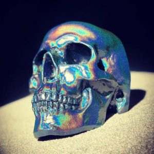 Spectraflair Handmade Skull by Haus of Skulls
