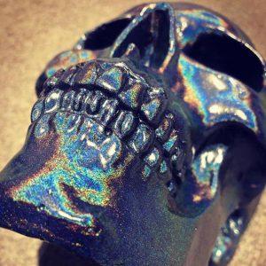 Spectraflair Handmade Skull by Haus of Skulls