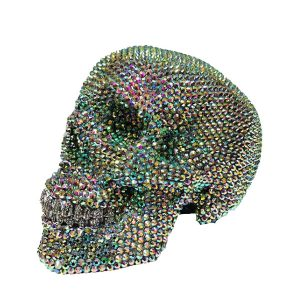 Crystal Rhinestone Skull by Haus of Skulls