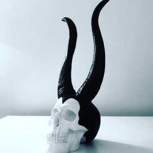 Maleficent Skull by Haus of Skulls