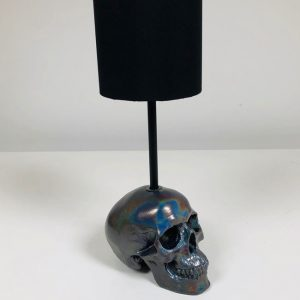 Spectraflair Handmade Skull Lamp by Haus of Skulls