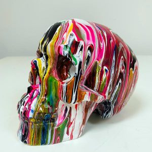 Fluid Art Skulls by Haus of Skulls